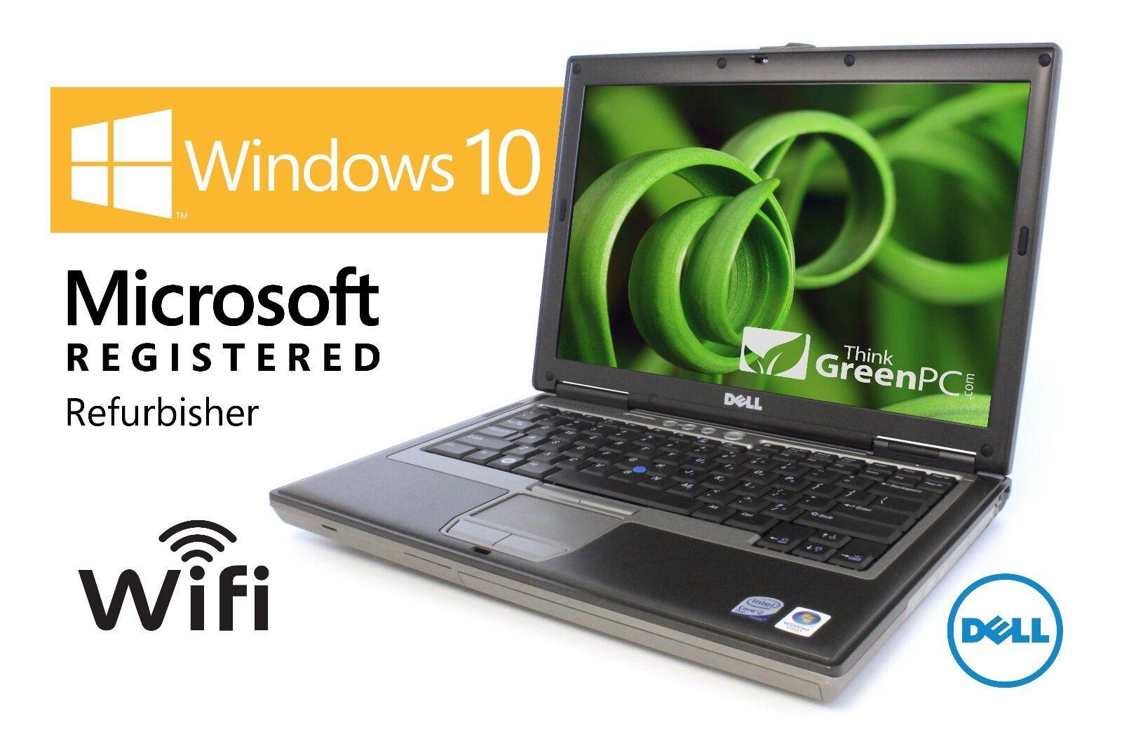 $91.99 - Fast Dell Latitude Laptop Computer Dual Core 4GB WiFi DVD Windows 10 Notebook HD