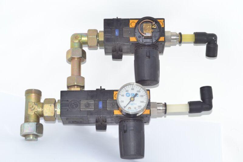 Knapp SMC AIR PRESSURE REGULATOR control valve plate pneumatic