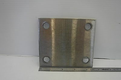 Stainless Steel Plate 4 X 4-12 W 12 Holes