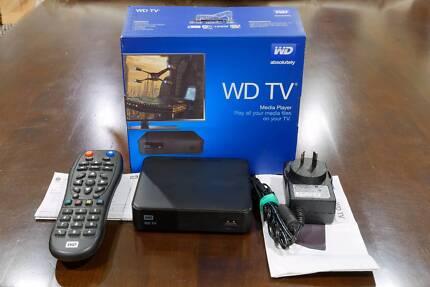 AS NEW Western Digital WD TV Wi-Fi 1080P Media Player