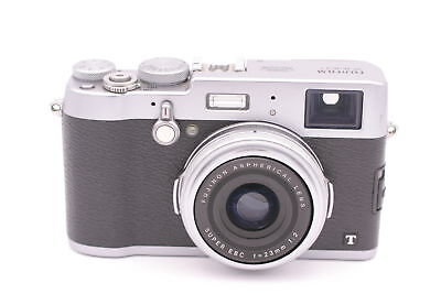 Fujifilm X Series X100T 16.3MP Digital Camera - Silver, used for sale  Shipping to South Africa