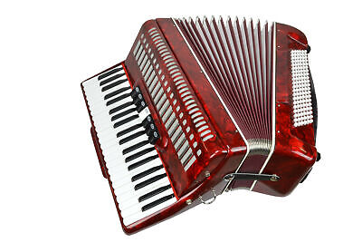 Piano Accordion 120 Bass Keys - 41 Treble Keys - with Straps and Case