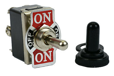 20a 125v Toggle Switch On-off-on Dpdt 6 Terminal Momentary 1 Sideboot