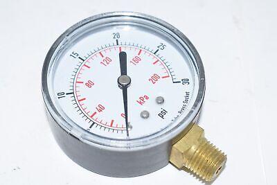 4flv7 2-12 Test Pressure Gauge 0 To 30 Psi