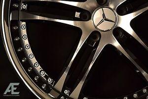 20-inch Mercedes E320 E350 E500 E550 Wheels/Rims GTX-15 Black