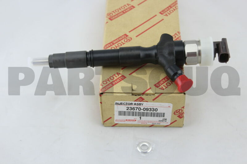 2367009330 Genuine Toyota Injector Assy 23670-09330