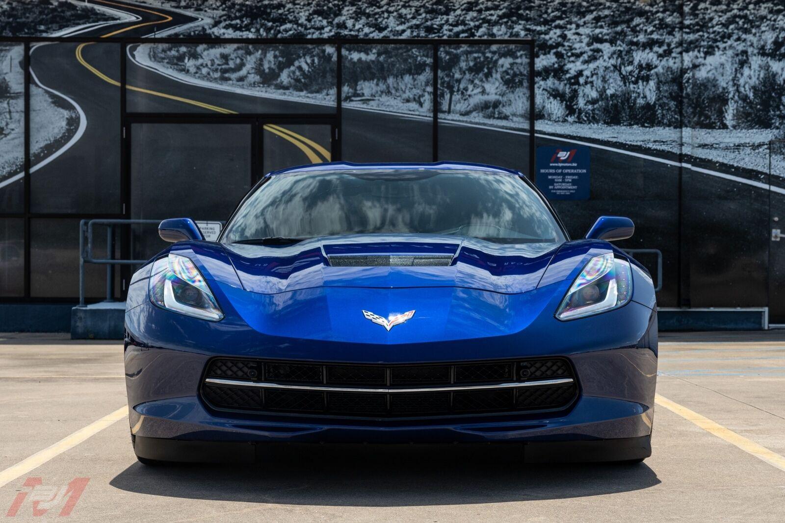 2017 Blue Chevrolet Corvette  2LT | C7 Corvette Photo 3
