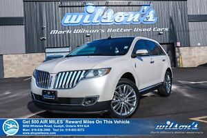 2014 Lincoln MKX AWD | LEATHER | NAV | PANO | HTD + A/C + PWR +