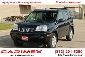 2005 Nissan X-Trail LE 4x4   Leather   Sunroof    CERTIFIED