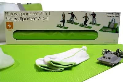Fitness Sport Set für Wii Spielekonsole Kompatibel Fitness Matte USB Anschluß