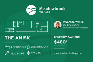 Meadowbrook Village - Country Living, Minutes from Brandon