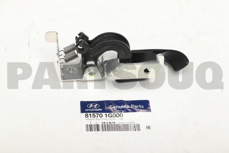815701g000 Genuine Hyundai / Kia Handle Assy-fuel Filler T/lid