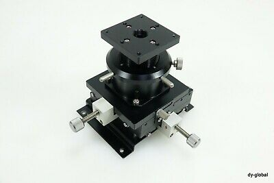 Xyz Precision Positioner Used -10mm Xy Axis W 20mm Z Axis Sta-i-2555f41