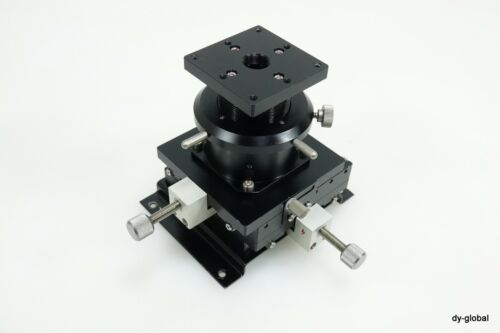 XYZ Precision Positioner Used +/-10mm XY Axis W/ 20mm Z Axis STA-I-255=5F41