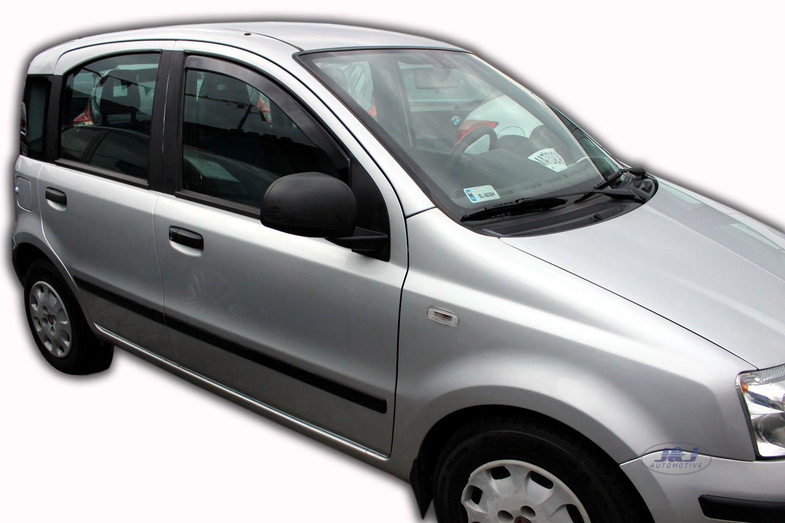 FIAT PANDA III 5-doors 2012-onwards 4-pc wind deflectors HEKO Tinted