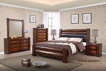 new bedroom furniture HARDWOOD finance and rent&keep available Bundall Gold Coast City Preview