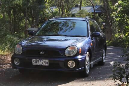 2001 Subaru Impreza + Reg + RWC Eltham North Nillumbik Area Preview