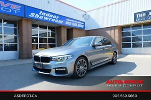 2017 BMW 5 Series M-Sport, NAV, HUD,No Accidents 530i xDrive