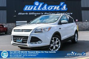 2016 Ford Escape TITANIUM | AWD | LEATHER | PANO ROOF | NAV | HE