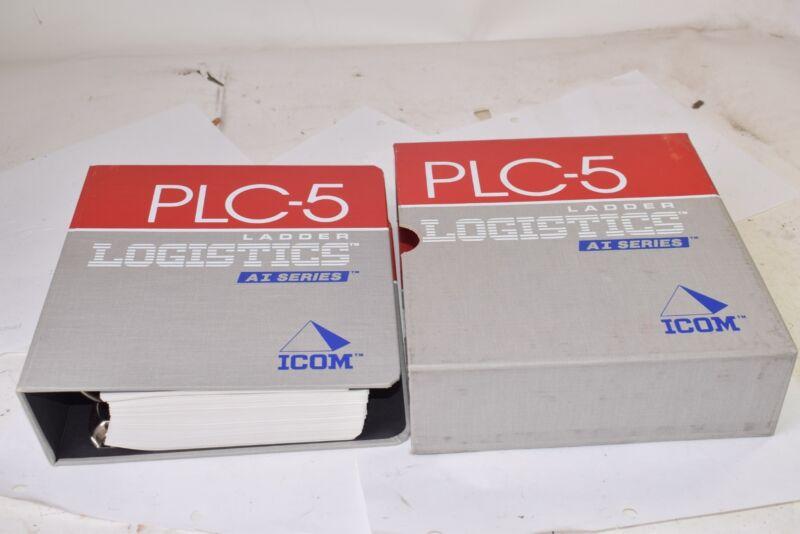 Vintage Ladder Logistics PLC-5, AI Series, ICOM Guide