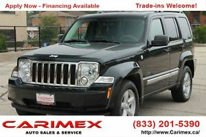 2010 Jeep Liberty Sport ONLY 108K | 4x4 | Sunroof | CERTIFIED