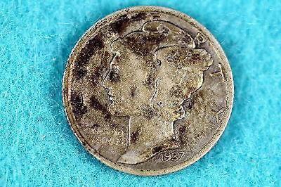 Estate Find 1937 - Mercury Dime F7850 - $2.50