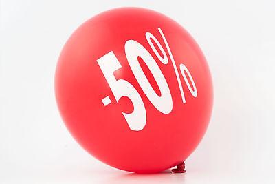 Ballons Rabatt Sale Summersale Reduziert Luftballon Prozente