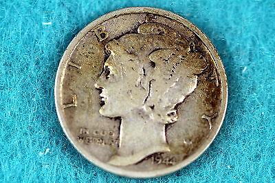 Estate Find 1944 - S Mercury Dime F7870 - $2.50