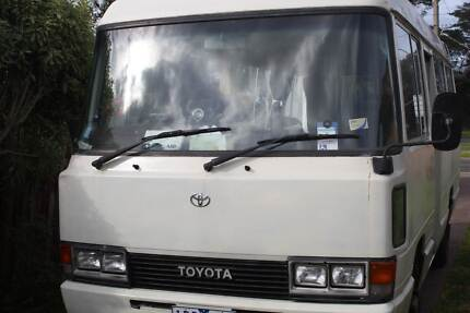 Toyota Coaster Motorhome, reconditioned motor Hamlyn Heights Geelong City Preview