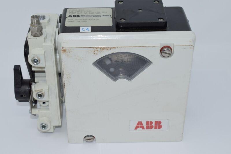ABB AV2321200 PNEUMATIC POSITIONER I/P 150PSI 4-20MA 30VDC