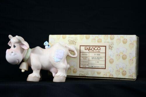 Precious Moments Nativity Cow Figurine E-5638 in Original Box