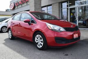 2015 Kia Rio LX+ HEATED SEATS | AIR CONDITIONING | BLUETOOTH