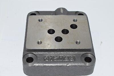215083 Hydraulic Valve Manifold Block