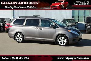 2013 Toyota Sienna LE 7 Passenger BACK UP CAMERA/3RD ROW/MUST SE