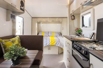 19 FT Goldstar RV Sleeps 3, Setup for Free Camping Berrilee Hornsby Area Preview