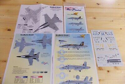Aero Master 72-173 Stinging Hornets Pt III Model Plane Decals Aeromaster