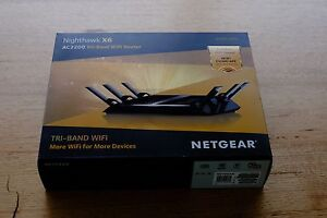 NETGEAR R8000 AC3200 Nighthawk X6 Tri-Band WiFi Router Manly Manly Area Preview