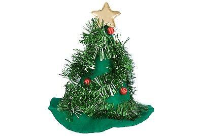 Weihnachtsbaum Hut Weihnachten Kostüm Santa Hut Elfen Neuheit Party ()