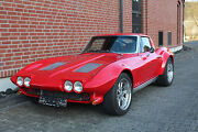 Corvette C2 Sting Ray Split Window H Kennzeichen Tausch