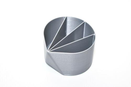 10oz 4-Compartment Divided Acrylic Paint Pour Cup - Fluid Pour - Reusable