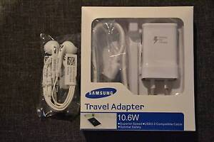 Genuine Samsung Adaptive Fast Charger & Earphone (COMBO DEAL) Hallam Casey Area Preview