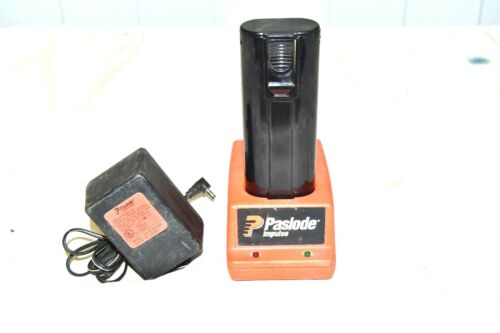 PASLODE  998628 Charger & Used Flagpower Ni-CD 6V Battery