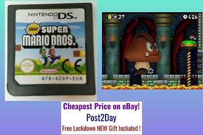 Super Mario Bros ~Nintendon DS ~Original Cart ~Cheapest Price ~Post2Day