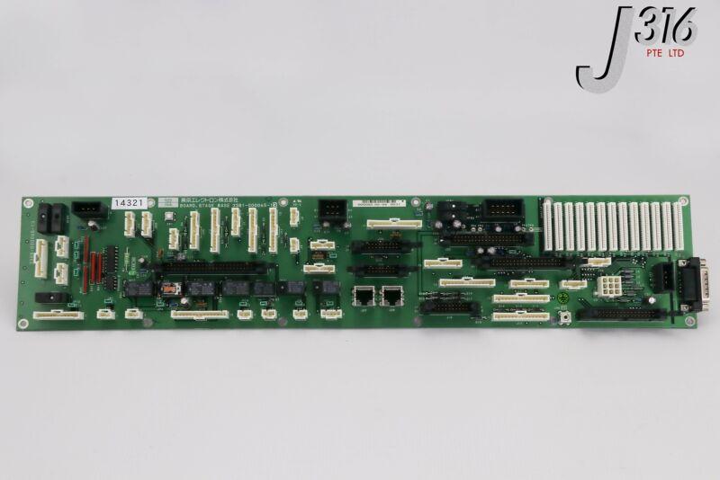 14321 TOKYO ELECTRON PCB,BOARD,STAGE BASE, 3308-000065-13 3381-000065-13