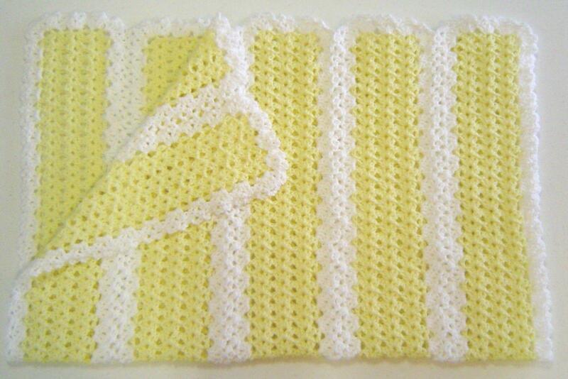 Crochet Baby Blanket Ebay