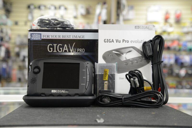 Jobo GIGA Vu Evolution 80 GB Multi Media Portable Storage