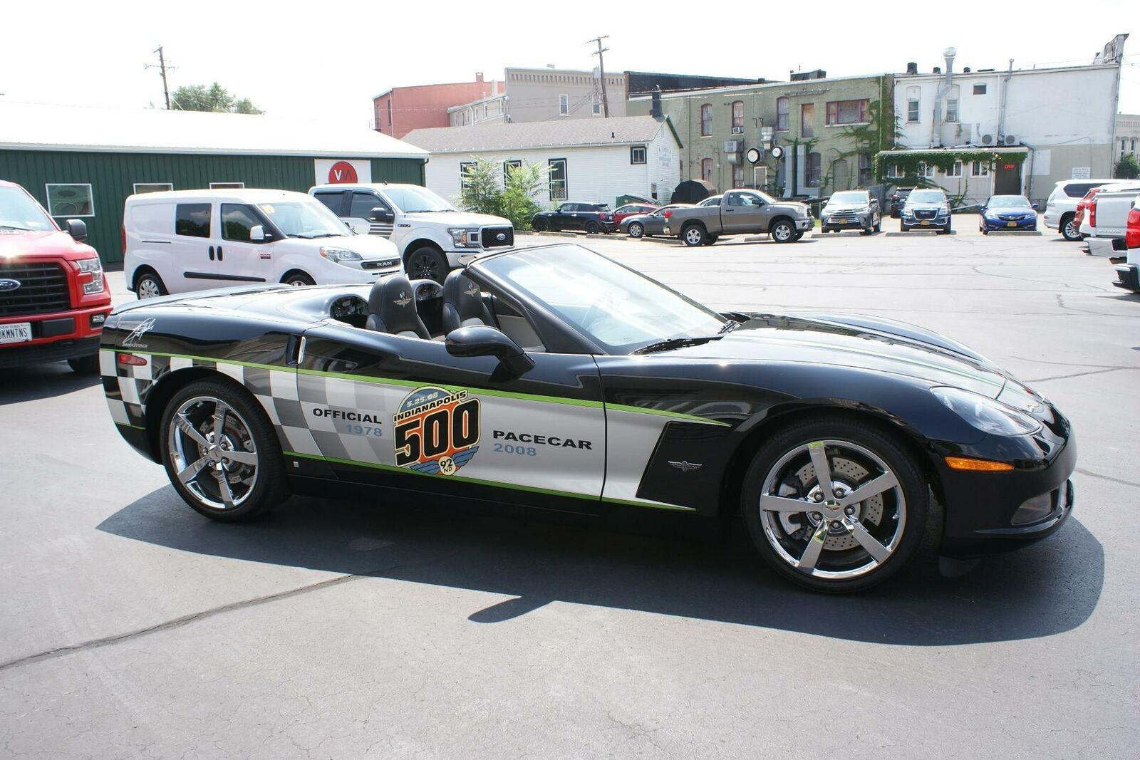 2008 Black Chevrolet Corvette   | C6 Corvette Photo 9