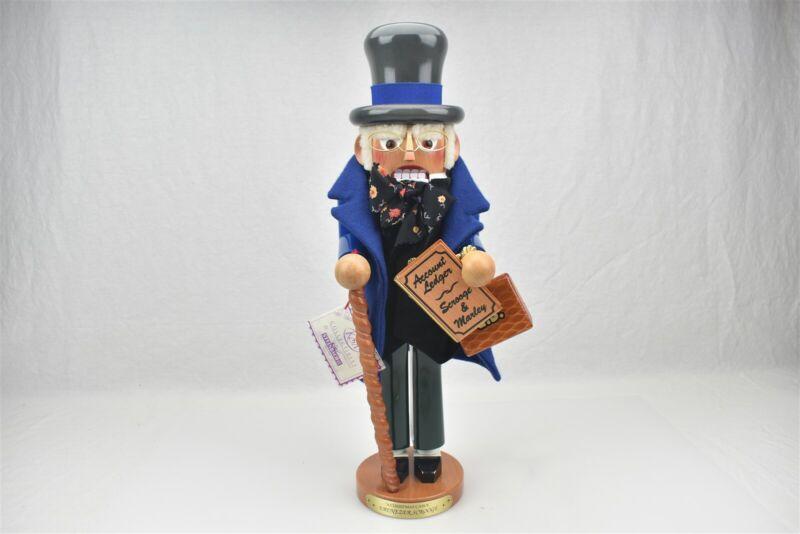 """Steinbach Nutcracker Ebenezer Scrooge A Christmas Carol 17.5"""""""
