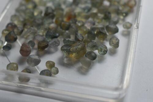 Rock creek investment Montana Unheated Sapphires bulk natural facet rough110 cts