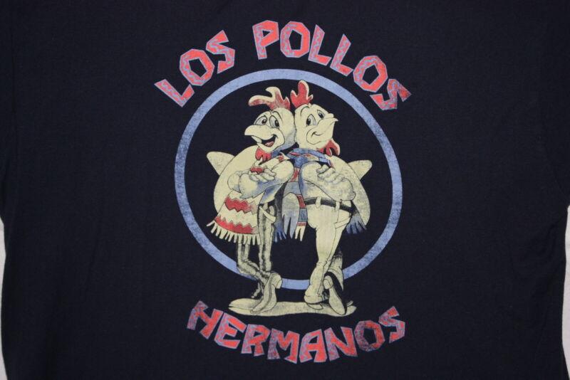 Los Pollos Hermanos XL T Shirt Breaking Bad